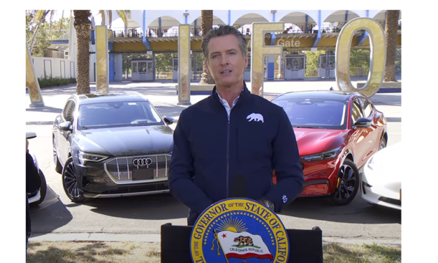 Newsom Executive Order Bans Gas-Fueled Vehicles by 2035 and Fracking by 2024